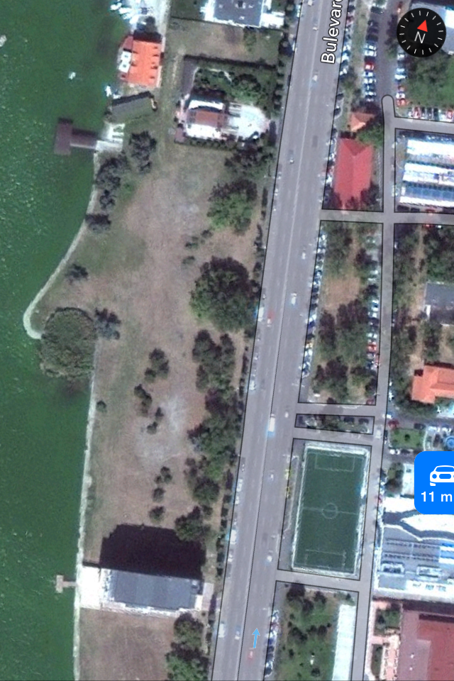 Statiunea Mamaia - Teren Intravilan 584 mp cu urbanism de P+5E-8E