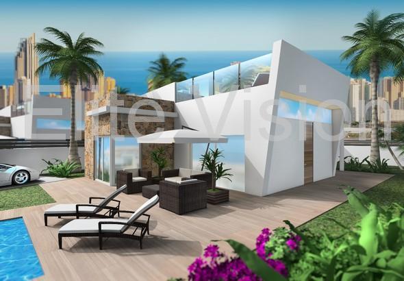 Casas independientas  obra nueva - Benidorm - Finestrat Hills