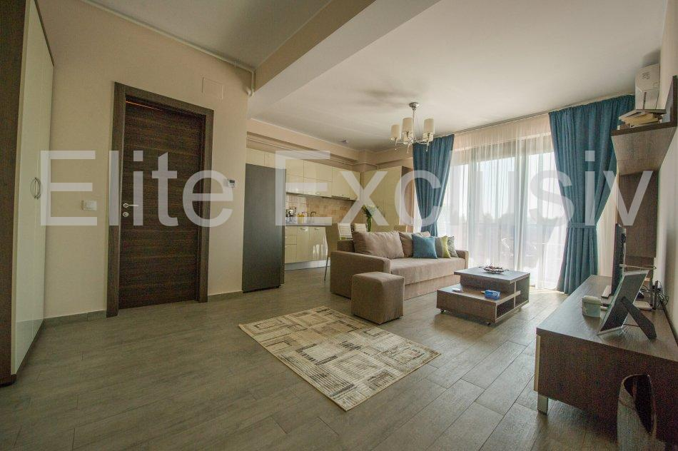 Mamaia Statiune - Vandut dupa 17 zile- Apartament lux de 2 camere  cu 2 bai, mobilat si utilat complet