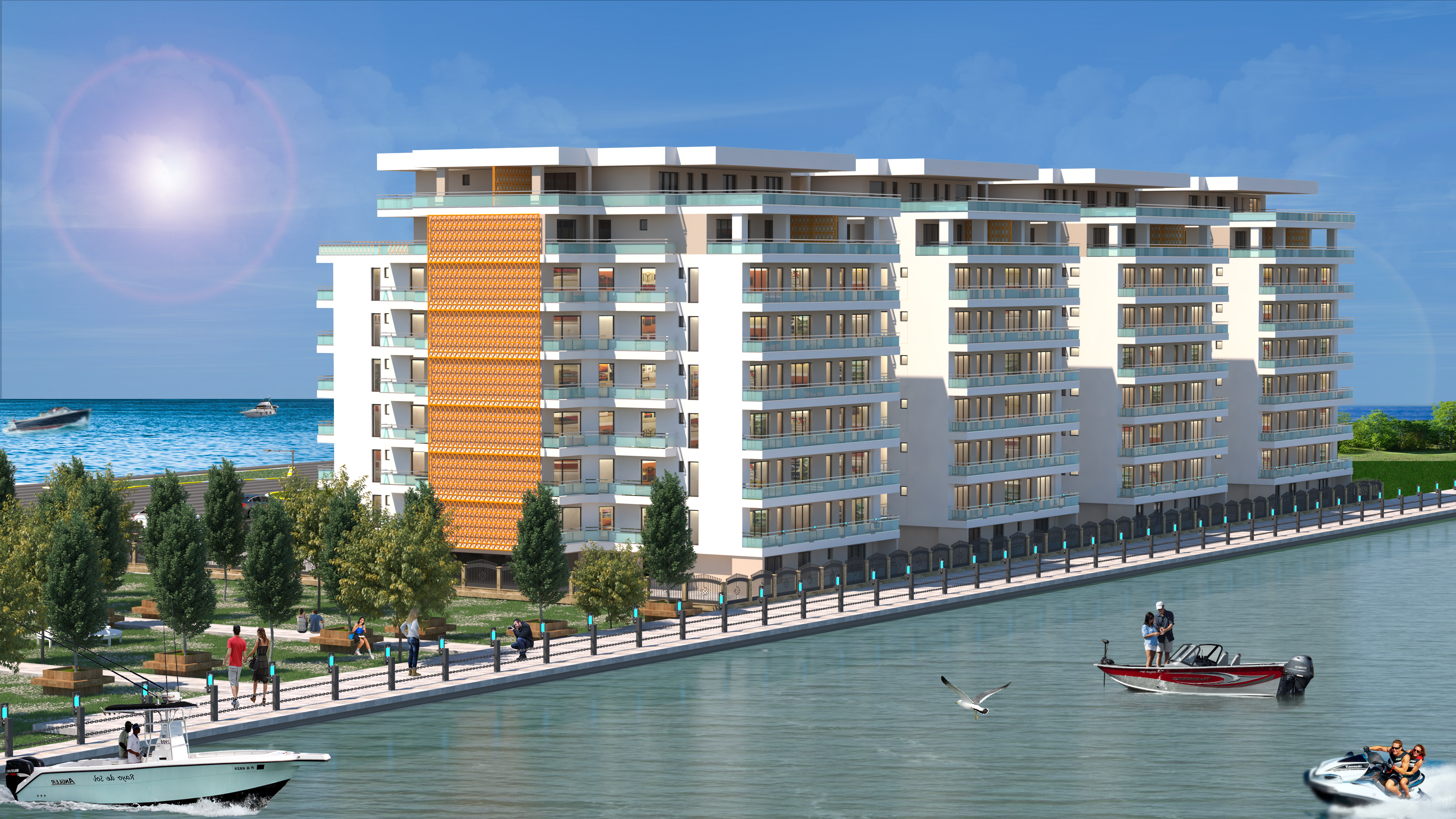 Vanzare apartamente si garsoniere in Complex Rezidential aflat in Statiunea Mamaia si oras Constanta