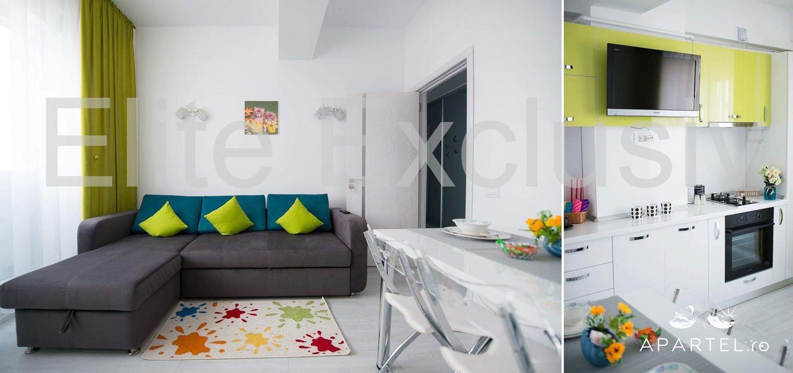 Mamaia Nord - Apartament cu 2 camere mobilat, utilat complet