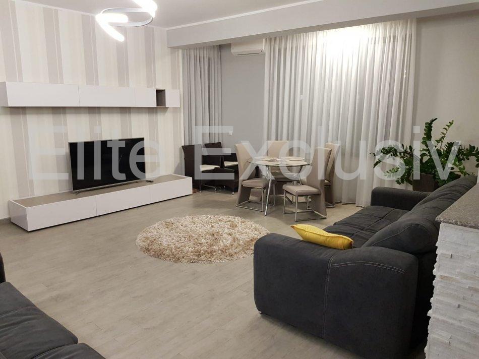 Mamaia Statiune - Inchiriere apartament lux de 2 camere cu 2 bai, mobilat si utilat complet cu cheltuieli incluse
